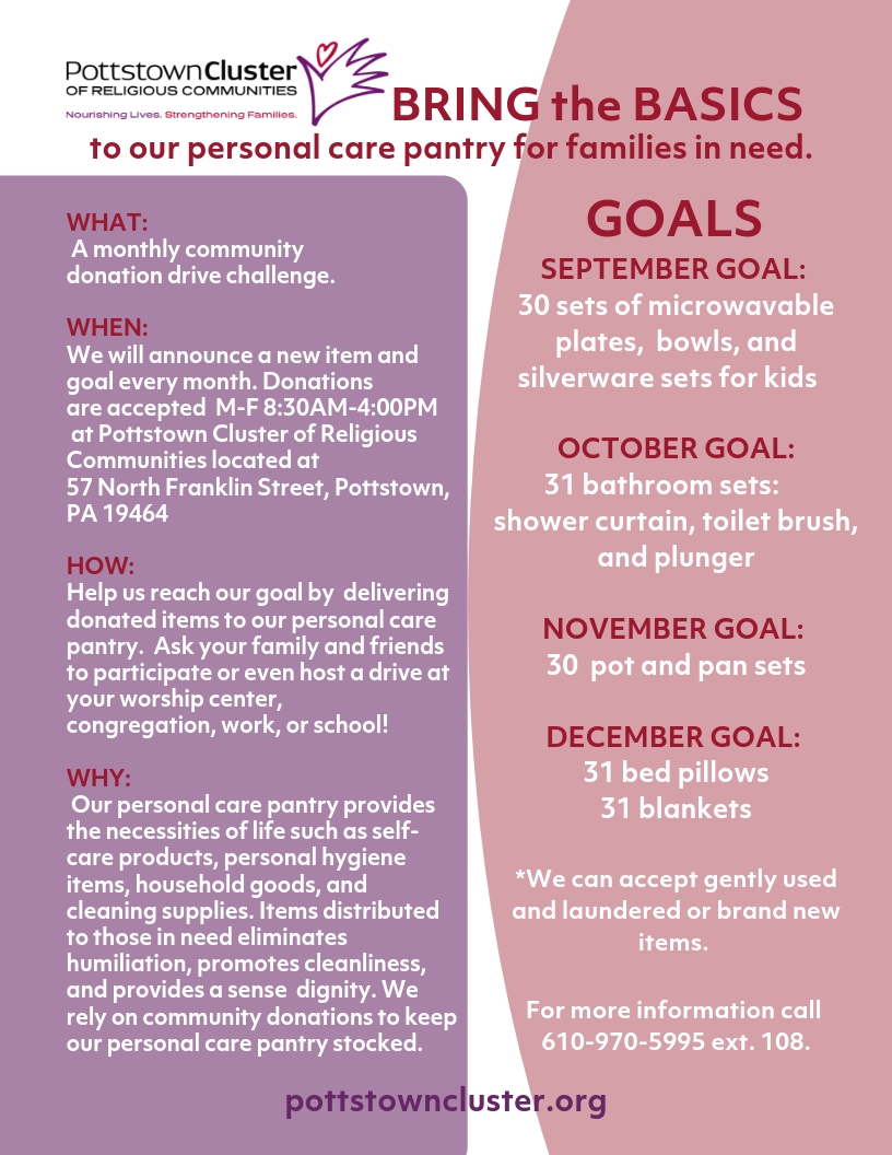 PCRC Monthly Challenge Flyer
